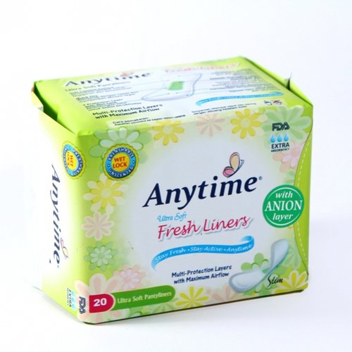Pantyliners - Anytime ANION FRESHLINERS Isi 20 Pad - Avail To Compare With Natesh Sirih Pantyliner