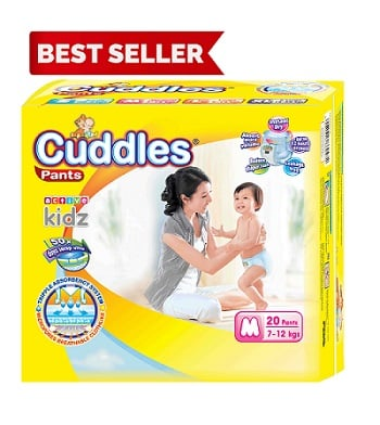 Popok - Cuddles Diapers Pull-Up Pants M20 - Better Than Sweety & Mamy Poko; Merries; Goon; Fitti