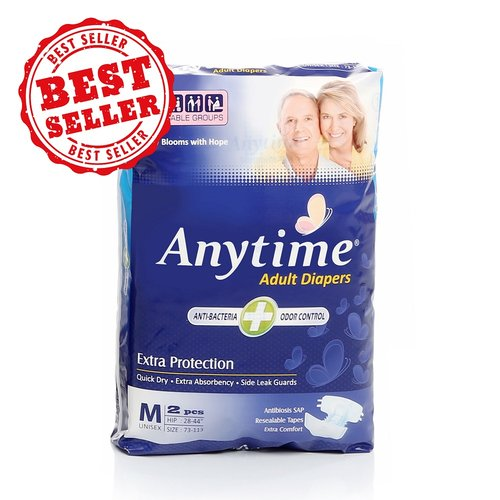 Popok Dewasa - Anytime Adult Diapers Size M2 - We Care With Confidence And Lifree