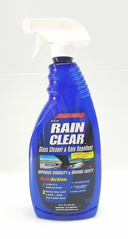 GLASS SCIENCE Rain Clear Glass Cleaner & Rain Repellent