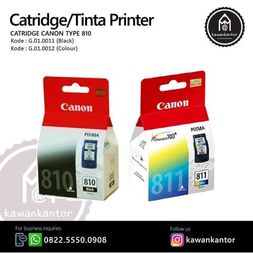 CANON Tinta Printer 811 Colour