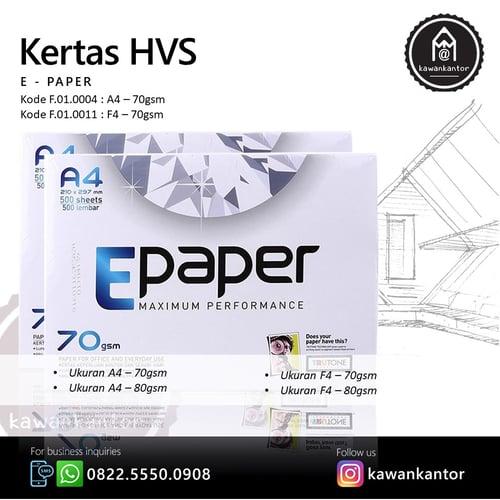 EPAPER Kertas HVS A4 70gr 1 Rim