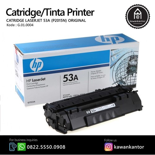 HP Tinta Printer Laserjet 53A P2015N