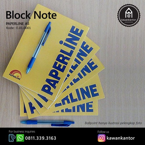 PAPERLINE Block Note A5