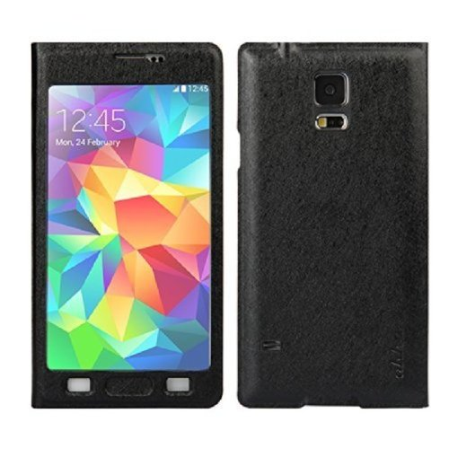 AHHA Gibbs Magic Flip Cover Casing for Samsung Galaxy S5 - Black