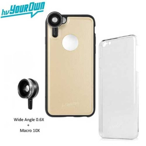 Ahha Golenon Photo Kit Softcase Casing for iPhone 6S Plus - Cham Gold 1 Lensa Express