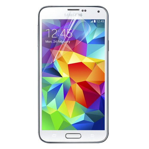 Ahha Monshield Screen Protector for Samsung Galaxy S5 Anti Fingerprint Clear