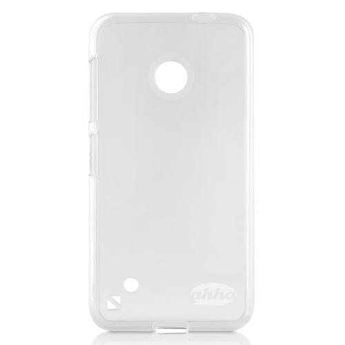 Ahha Moya Gummishel Softcase Casing for Nokia Lumia 530 - White