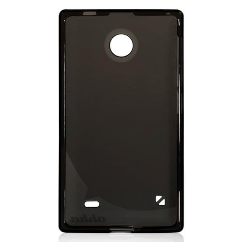 AHHA Moya Gummishell Casing for Nokia X Dual SIM S - Black