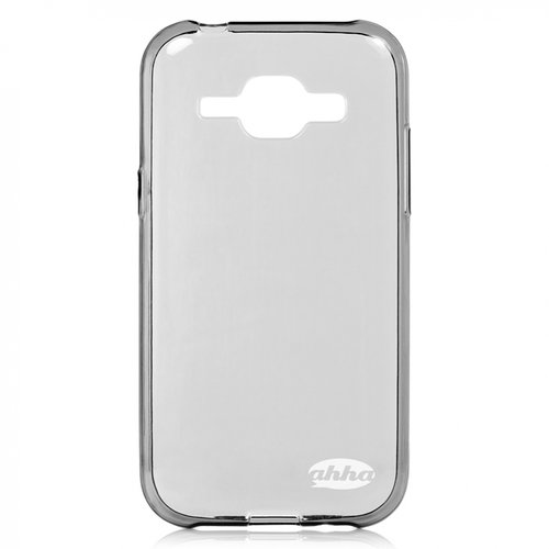 AHHA Moya Gummishell Casing for Samsung Galaxy J1 - Grey