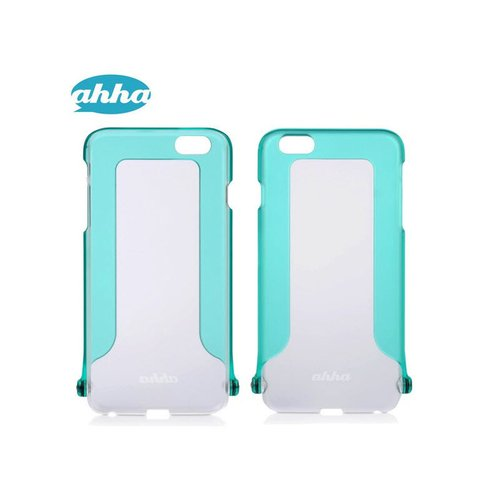 AHHA Snapshot Selfie Casing for iPhone 6 Plus - Clear Turquoise