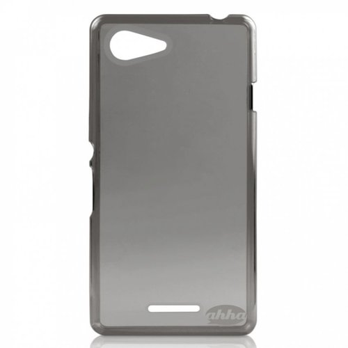 AHHA Softcase Casing for Sony Xperia E3 - Clear Black