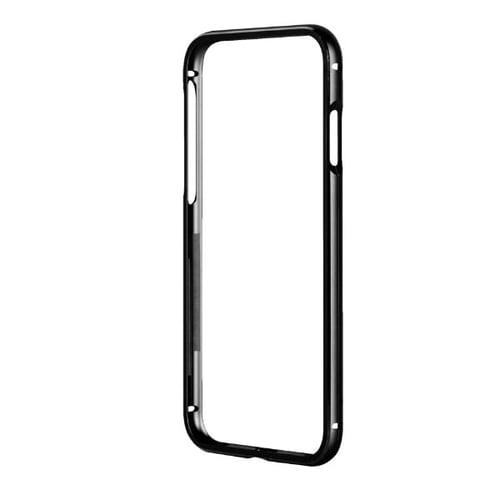 CAPDASE Alumor Bumper Casing for iPhone 7 - Solid Hitam