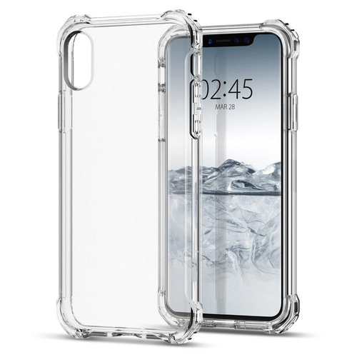 Capdase Cristal jacket iPhone X - Clear