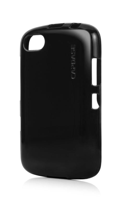 Capdase Lamina Tinted Jacket Softcase Casing for BlackBerry 9720 - Black