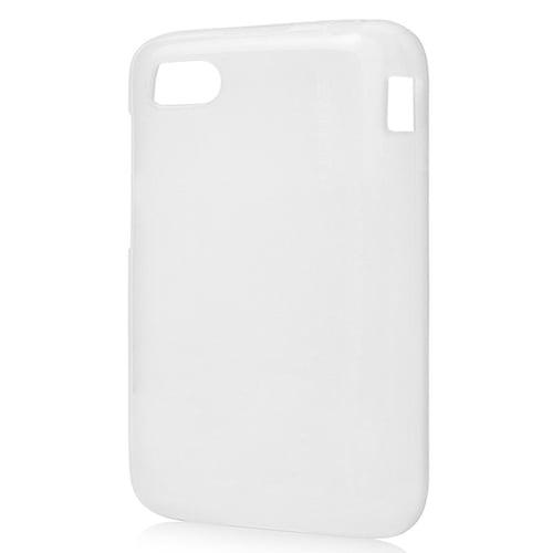 Capdase Lamina Tinted Jacket Softcase Casing for BlackBerry Q5 - White
