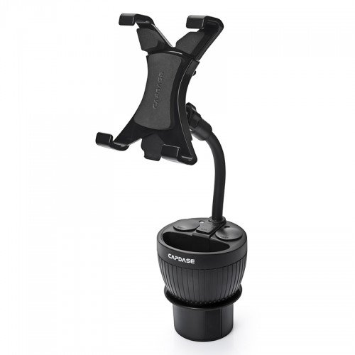 CAPDASE Max Mount Cup Holder Charger for iPad