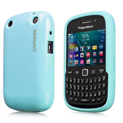 Capdase Polimor Casing for BlackBerry 9320 or 9220 - Blue