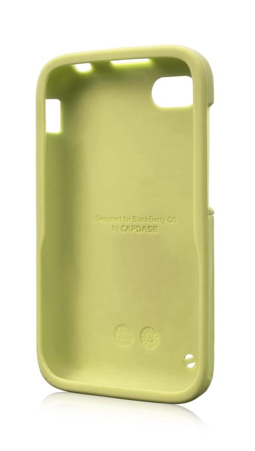 Capdase Polimor Jacket Casing for BlackBerry Q10 - Green