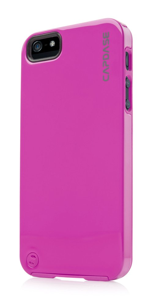 Capdase Polimor Jacket Casing for iPhone 5 or 5s - Fuchsia