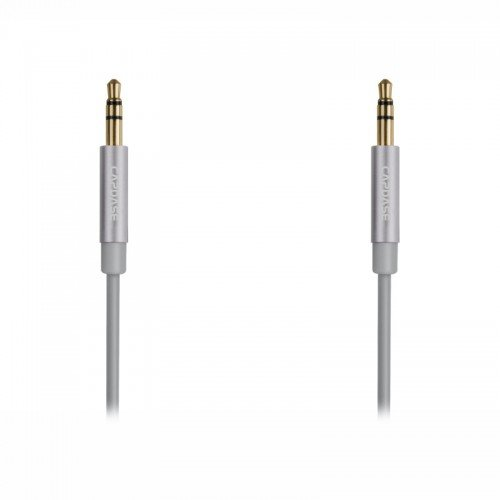 CAPDASE Posh Auxilary Audio Cable Silver