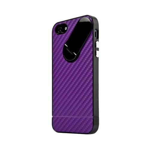 CAPDASE Sanp Jacket Grapite Casing iPhone 5 - Purple