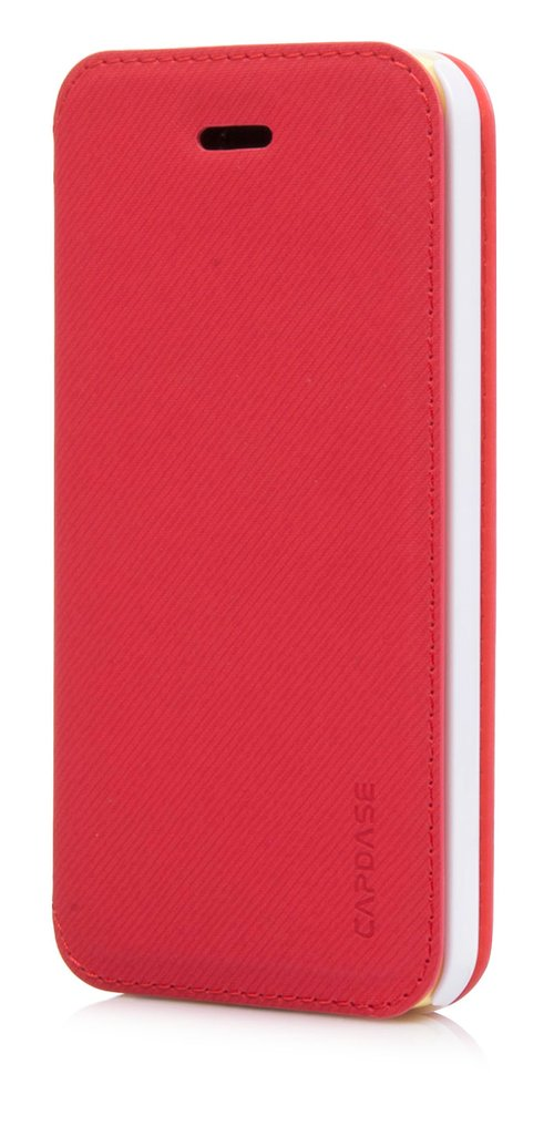 Capdase Sider Baco Folder Casing for iPhone 5c - Merah/Putih