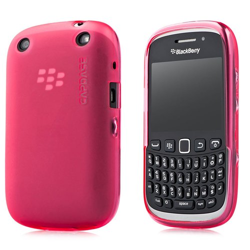 Capdase Soft Jacket Casing for Blackberry 9320 or 9220 - Red