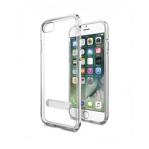 CAPDASE Soft Jacket Viewer Casing for iPhone 7 Plus - Clear