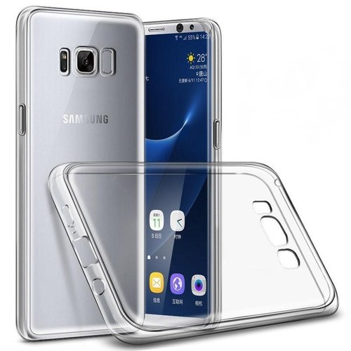 CAPDASE Soft Jacket Xpose Casing for Samsung Galaxy S8 - Clear
