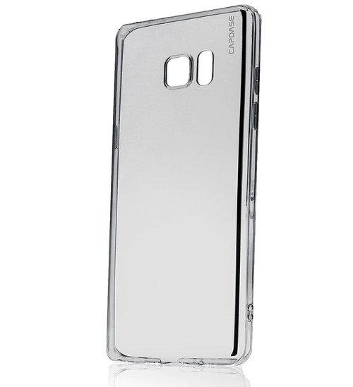 Capdase Soft Jacket Xpose Casing for Samsung Galaxy Fan Edition Note 7 - Grey