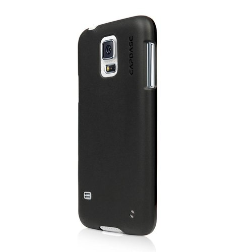 Capdase Softcase Casing for Samsung Galaxy S5 - Solid Hitam