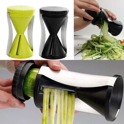 Vegetable Spiral slicer garnish dekorasi makanan Chef Alat Dapur Vegie