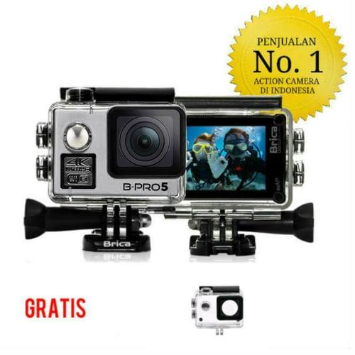 """Brica B-Pro 5 Alpha Edition 4K Mark II (AE2) Silver 2"""" Inch LCD Garansi Resmi"""
