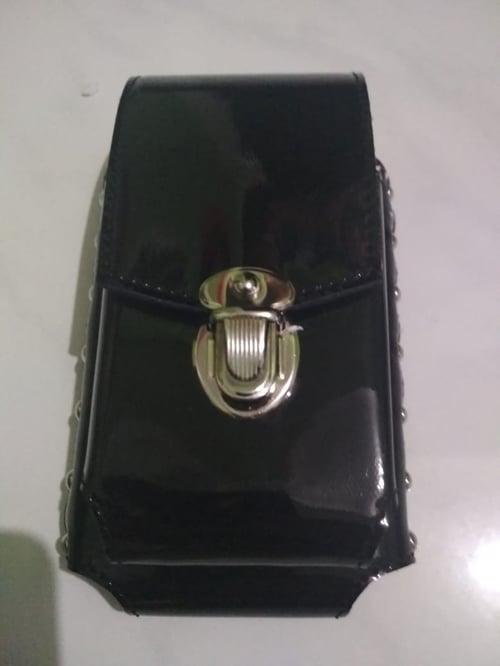 Sarung HP Pinggang Model Polisi Dobel Slot Ukuran Layar 6 Inch
