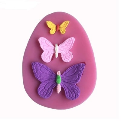 Butterfly ShapesSilicone Mold / Cetakan Kupu-kupu Silikon