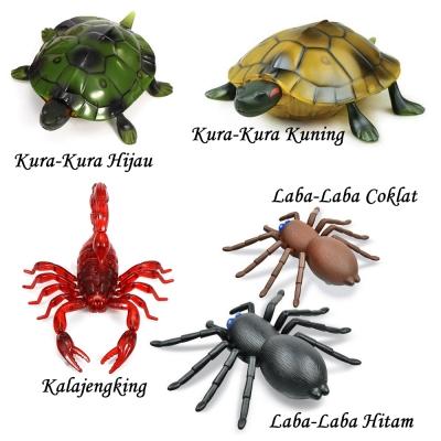 Remote Control Scorpion, Turtle, Spider / Remot Kontrol Kalajengking, Kura-kura, Laba-laba