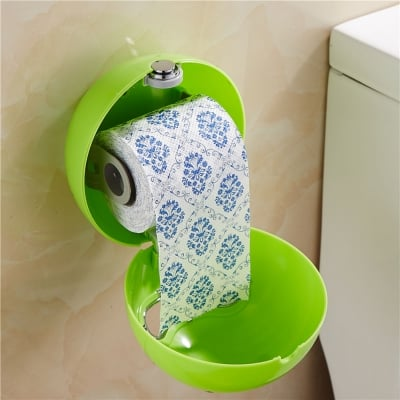 Round Bathroom Roll Paper Holder / Tempat Tissue / Tisu Round Bathroom Roll Paper Holder / Tempat Tissue / Tisu