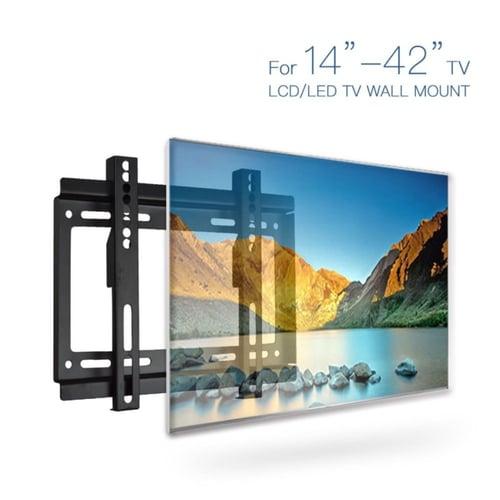 "Braket Bracket TV Flat LCD LED Wall Mount Bracket 14 - 42"""