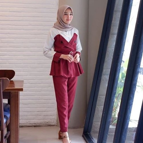 New Baju Muslim Andara set