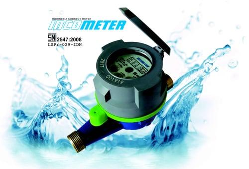 Water Meter dia 1/2 inch INCOMETER Type Multi - Jet