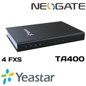 YEASTAR Voip Neogate 4FXS Analog Djteko TA400