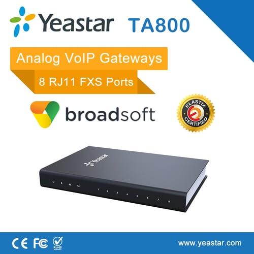 YEASTAR Voip Neogate 8 FXS Analog Djteko TA800