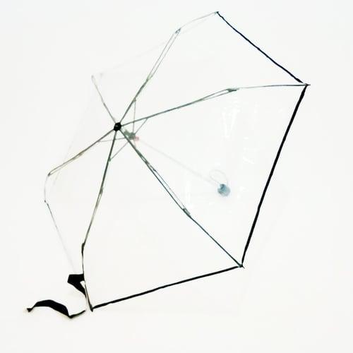 Payung Transparan Lipat Bening Korea TABASA