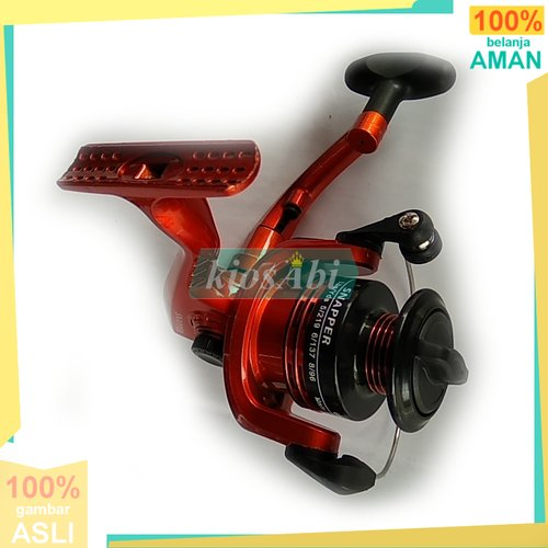 BE ONE SNAPPER 5BB reel pancing