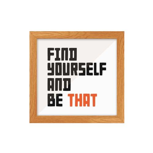 Frame Find Your Self