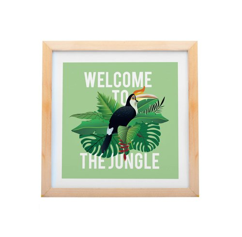 Welcome To The Jungle Enggang Borneo Artprint