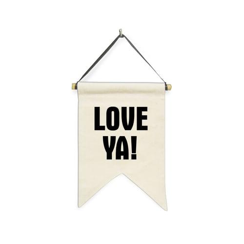 Hanging Sign Love Ya