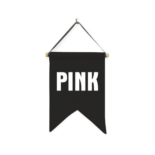 Hanging Sign Pink