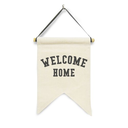 Hanging Sign Welcome Home